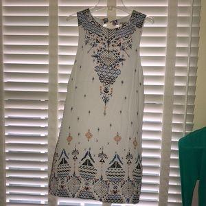 Tribal print flowy dress